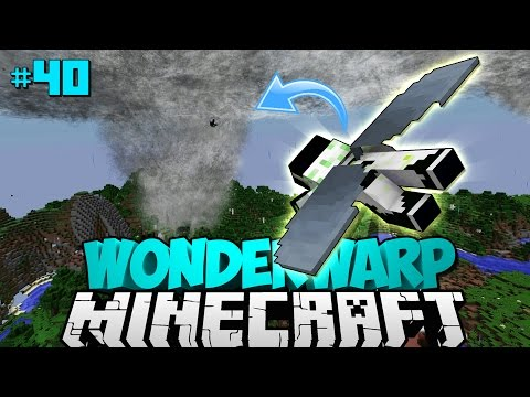 IN EINEN TORNADO FLIEGEN?! - Minecraft Wonderwarp #40 [Deutsch/HD]
