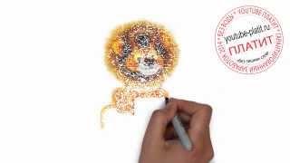 Нарисованные карандашом коты  Как нарисовать карандашом могучую кошку