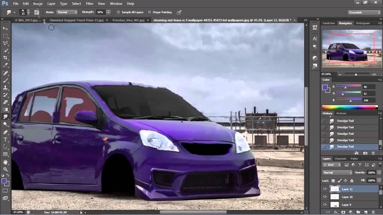 Perodua Viva Virtual Tuning #2 - YouTube