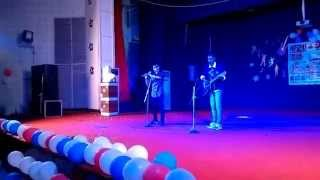 Fresher's party 2015.... mashup on guitar and flute - by Arpan Kayastha & Ranveer Singh