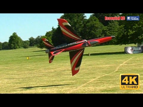 LOWEST 200MPH KNIFE EDGE TURBINE RC JET PASS ! ACE PILOT: Martin Pickering [*UltraHD and 4K*]