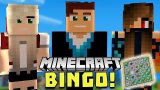 MINECRAFT BINGO Z DZIEWCZYNAMI! /w Ulaśka, Gianna | Minecraft Vertez | Bingo #02