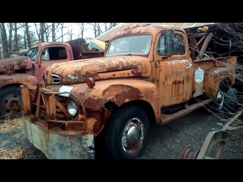 Exploring an Abandoned Saw Mill Pennsylvania Antique Old Classic Cars