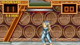Game Boy Advance Longplay [035] Super Street Fighter II Turbo Revival