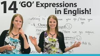 Learn 14 GO Expressions in English