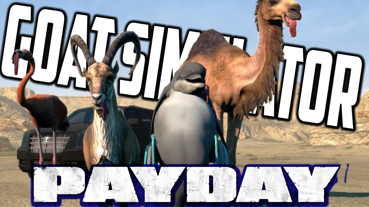 how to download goat simulator payday for free