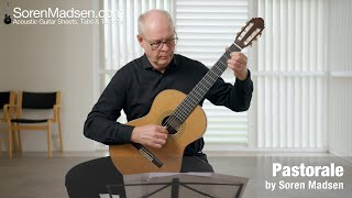 Pastorale by Soren Madsen - Danish Guitar Performance - Soren Madsen