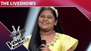 sneha shankar performs on der naa ho jaaye kahin the voice india kids episode 21