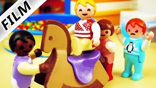 Playmobil Film deutsch | NEUES KIND IN KITA - Bekommt Emma Konkurrenz? Kinderfilm Familie Vogel