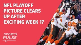 NFL playoff picture clears up after exciting Week 17