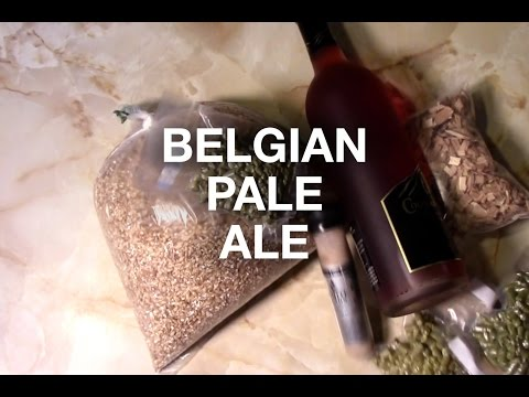 Brewing a Belgian Pale Ale with Red Wine and Oak Chips!