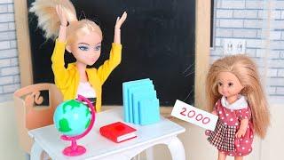 Школьный Словарь Утонул  Как Заплатить Штраф? Мультики Барби Куклы Игры Для девочек IkuklaTV