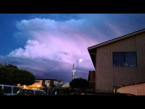 Lightning in Salinas ca.