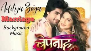 Bepannah Aditya Zoya Marriage background music   Jennifer Winget   Harshad Chopra   Colors Tv
