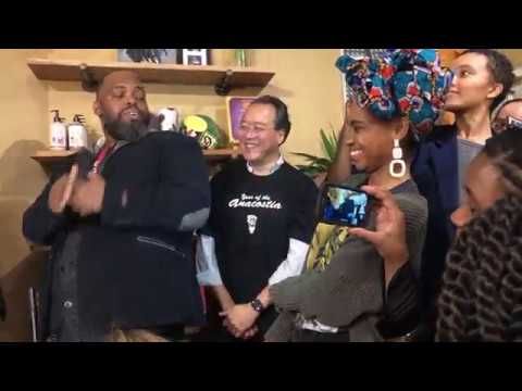 Esperanza Spalding In DC With Tarus Mateen & Jay Sun