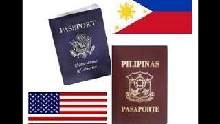 American Citizenship, Dual Citizenship (Philippines), Balikbayan privilege, etc.