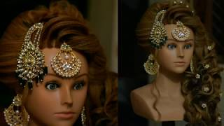 best bridal hairstyle of 2018 (magic techniques by chandra prakash patel)