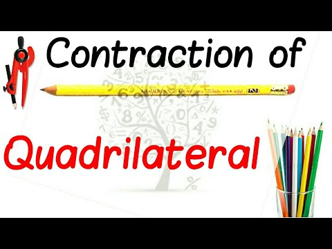 Contraction of quadrilateral