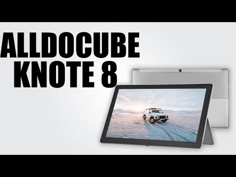 ALLDOCUBE KNote 8 2 in 1 Tablet PC - YouTube