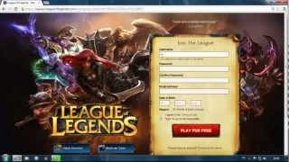 HOW TO REGISTER PBE LOL FREE!