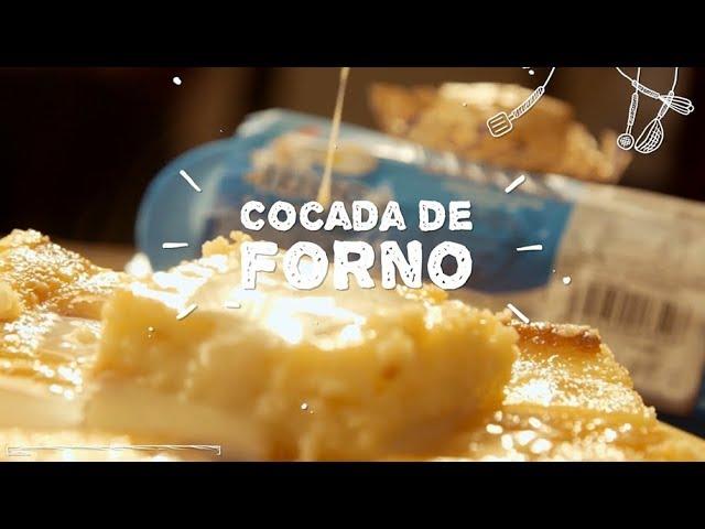 Cocada de Forno - Sabor com Carinho (Tijuca Alimentos)