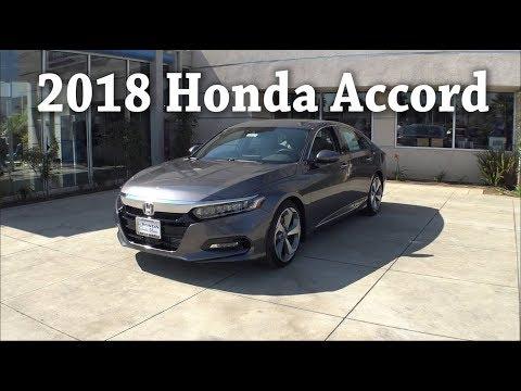 2018 Honda Accord Touring Overview Walk Around