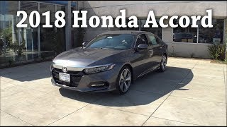 2018 Honda Accord Touring 1.5T Overview Walk Around