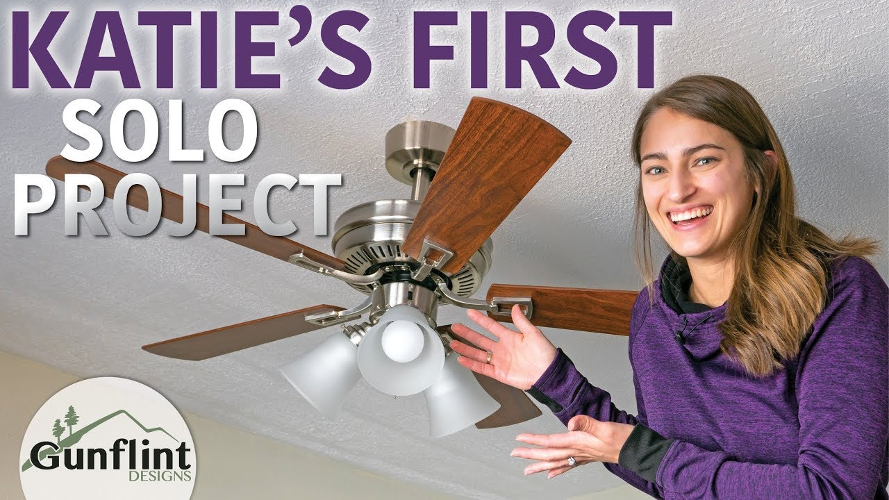 How To Install A Ceiling Fan You
