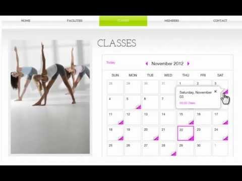HTML Website Builder   Google Event Calendar