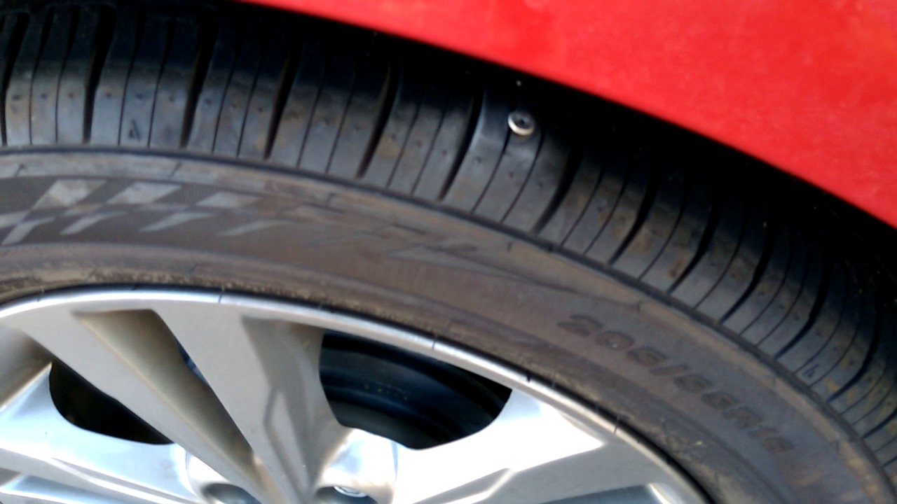Nail in Tire. - YouTube