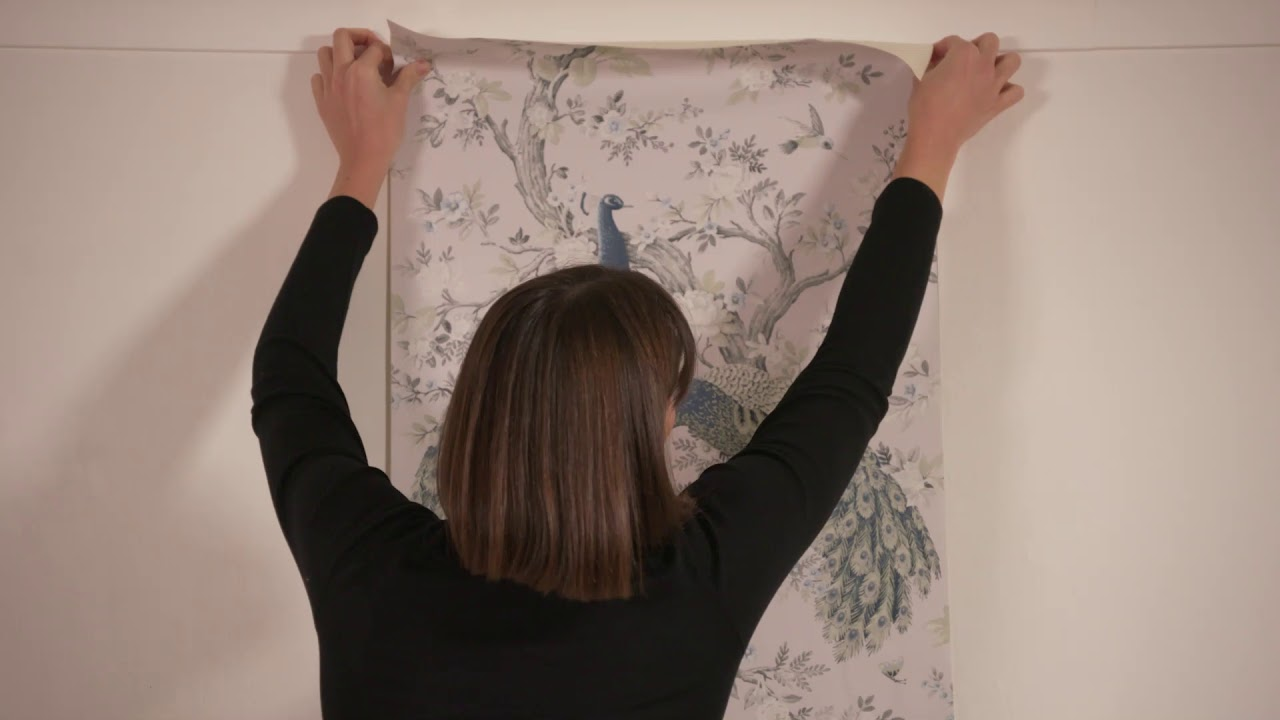 Laura Ashley Traditional Paste The Paper Wallpaper Youtube Laura ashley scottish thistle wallpaper. laura ashley traditional paste the paper wallpaper