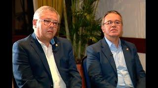 Entrevista a los magistrados Luis Hernández y José Barceló | Noticias Caracol