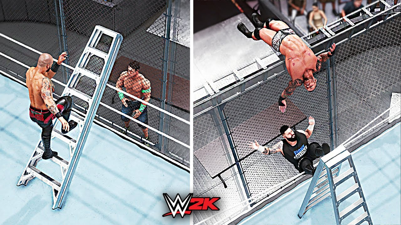 Top 10 Craziest Hell In A Cell & Steel Cage Moments! | WWE 2K