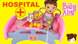 La Bebe Lily  Tiene Varicela  Y Va Al  Hospital De Juguete Nenuco
