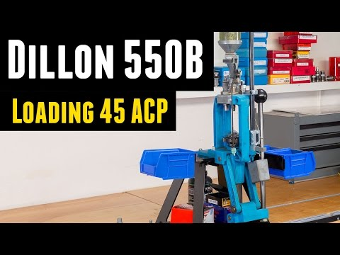 Reloading 45 ACP with the Dillon 550B – Ultimate Reloader