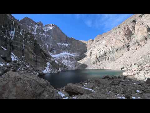 Chasm Lake in Rocky Mountain National Park