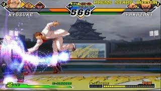 Capcom vs. SNK 2: Mark of the Millennium 2001 - Kyosuke/Ryo/Bison - Arcade Mode Playthrough