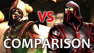 Mortal Kombat X - ERMAC Comparison VS MK9! (Intro, Gameplay, Combos, Xray, Fatality!) MKX!