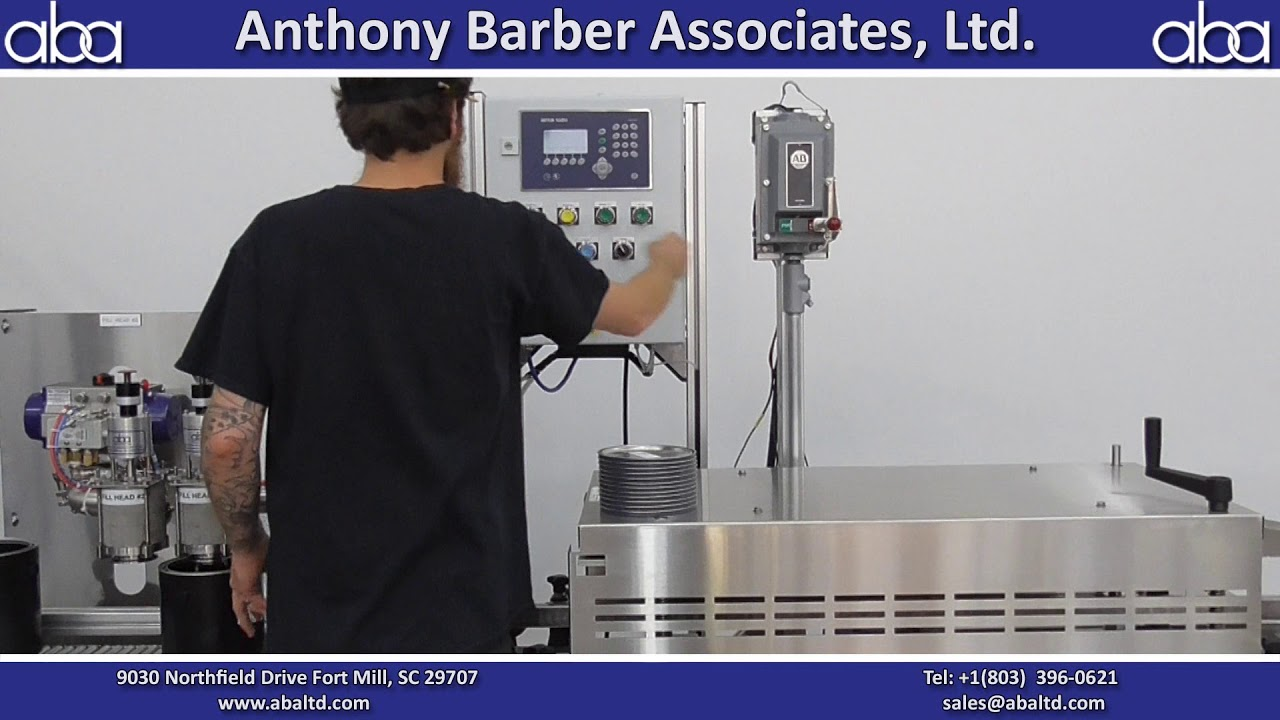 ABA-M457 - Top Fill, Semi-Automatic Machine for C1D1 area