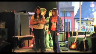 Epic Fail - Guitar player falls on stage