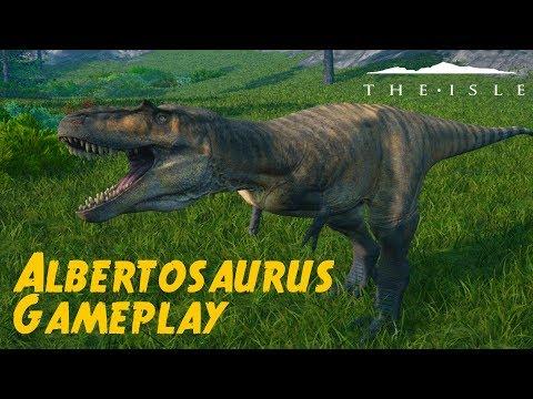 The isle#35 Probando al  Albertosaurus!!