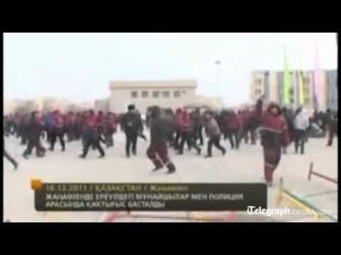 Oil worker riot kills 10 in Kazakhstan