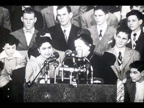 The Herald Tribune's, 5th, High School Youth Forum 1950,  Documentary F548