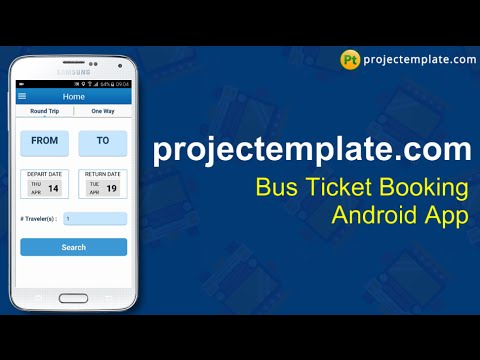 Bus Ticket Booking Android App source code - YouTube - booking app