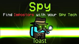 Among Us but with the NEW SPY role... (custom mod)