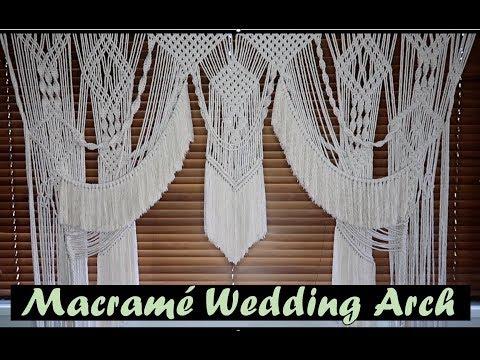 DIY: Macrame Wedding Arch