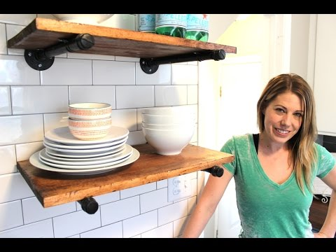 The 20 Rustic Shelf Easy Diy Project Youtube