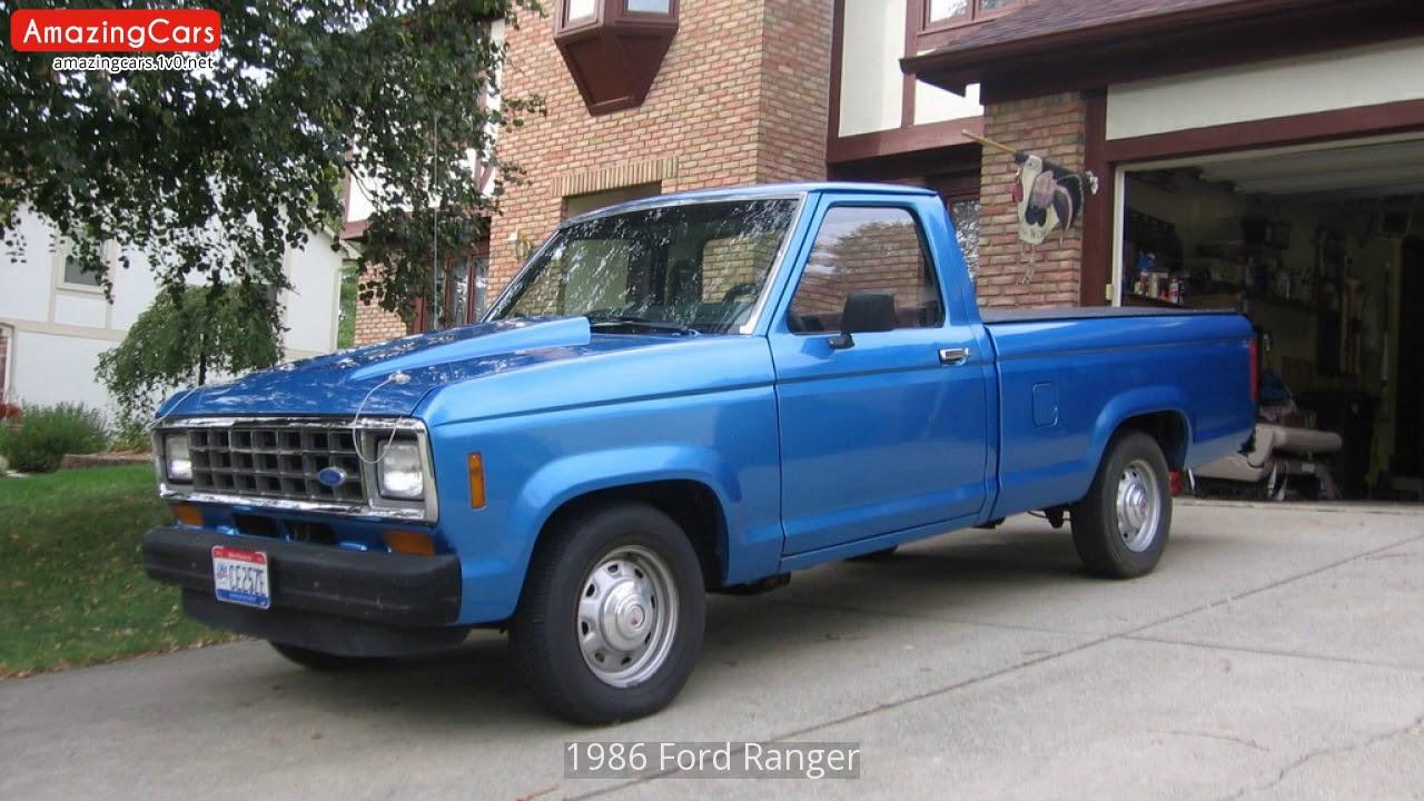 1986 ford ranger youtube