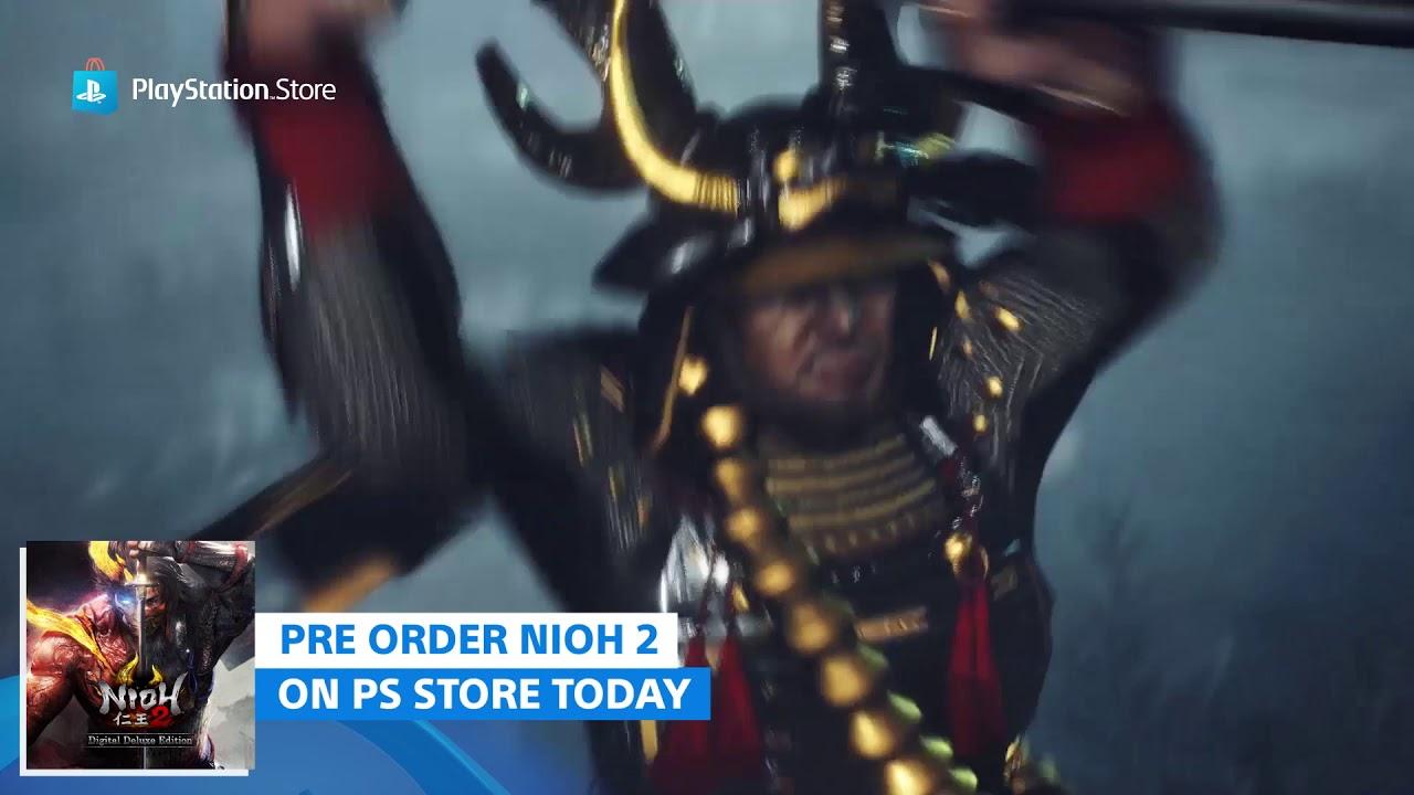 Nioh 2 Pre-order Trailer | PlayStation Store