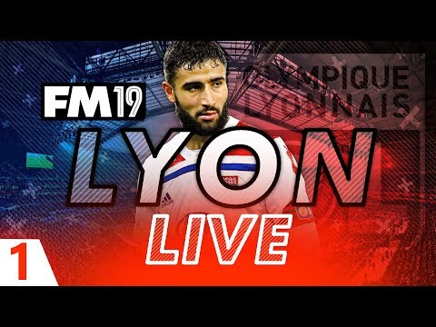 Football Manager 2019 | Lyon Live #01: Squad/Tactics Review